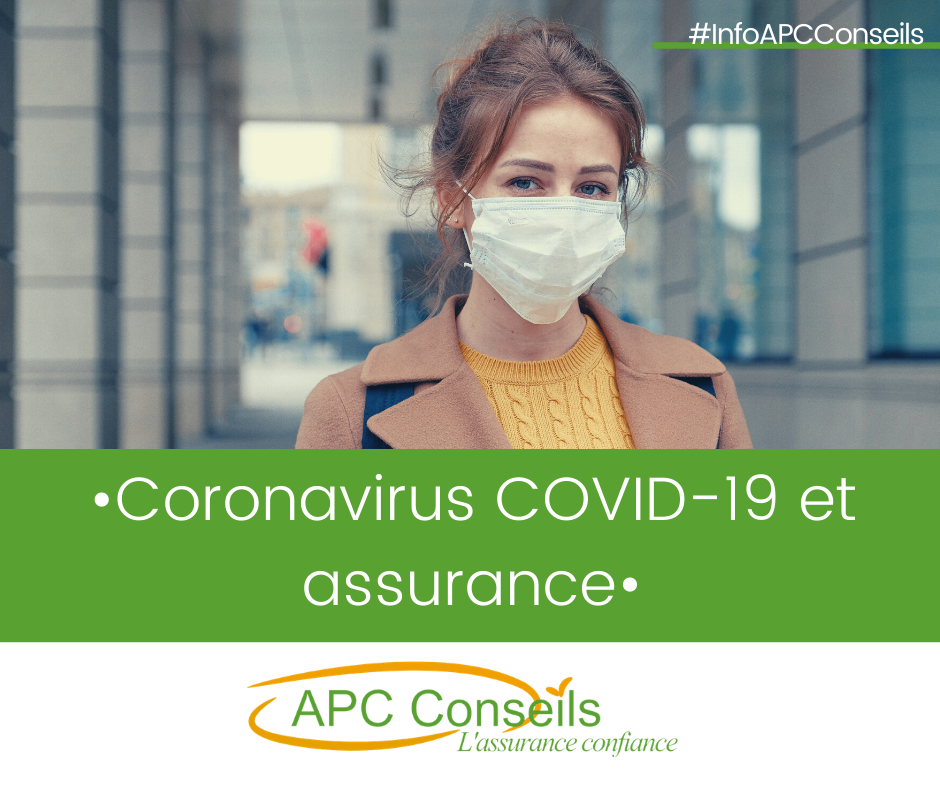 Coronavirus covid 19 et assurance